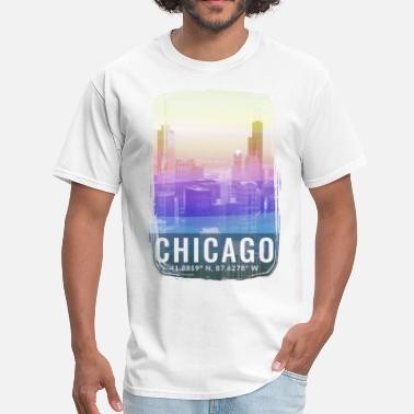 Chicago Windy City City of Chicago - Men's T-Shirt