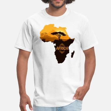 African Safari African Safari - Men's T-Shirt