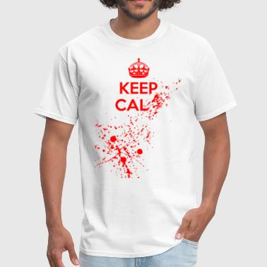 Mantén Calma Keep Cal... - Men's T-Shirt