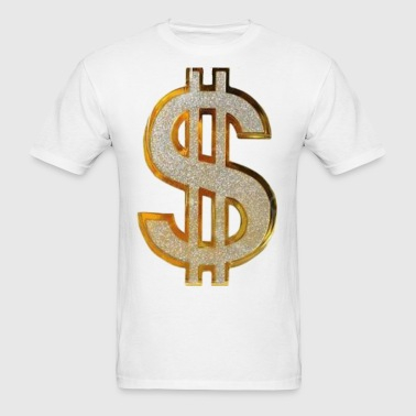 Diamond Dollar Sign  - Men's T-Shirt