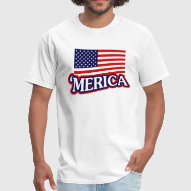 Merica Eagle MERICA - Men's T-Shirt