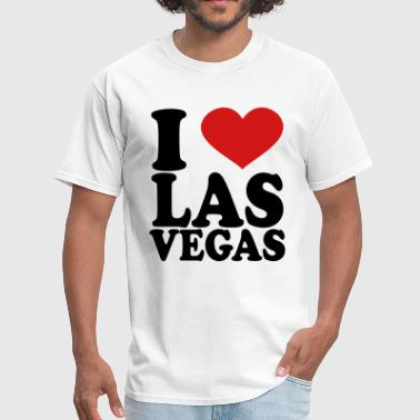 I Love Vegas I Love Las Vegas - Men's T-Shirt