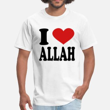 Allah I Love Allah - Men's T-Shirt