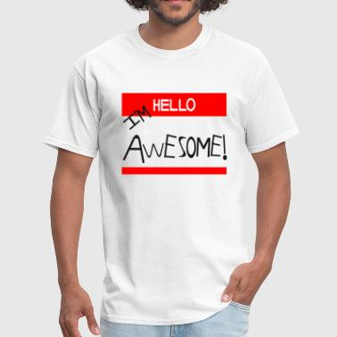 Awesome THE MIZ I'M AWESOME CENA - Men's T-Shirt