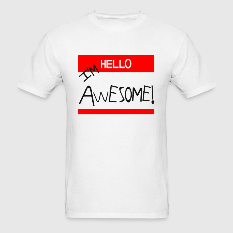 THE MIZ I'M AWESOME CENA - Men's T-Shirt