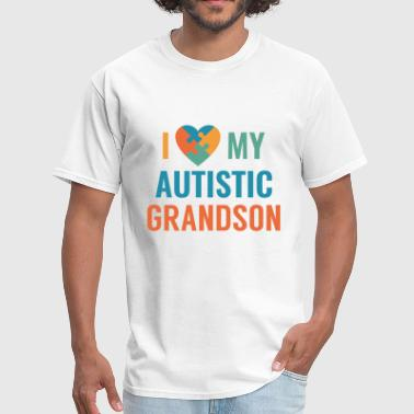 Love My Grandson I Love My Grandson - Men's T-Shirt