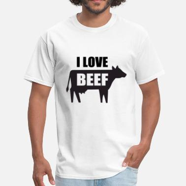 Beef I Love Beef - Men's T-Shirt
