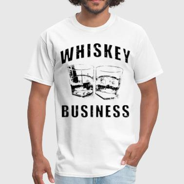Strip Club Whiskey Business risky movie poster drinking wicke - Men's T-Shirt
