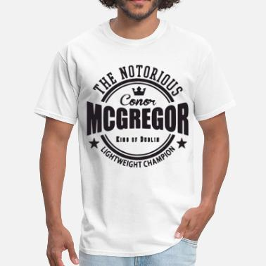 Conor Mcgregor softball T Shirts - Men's T-Shirt