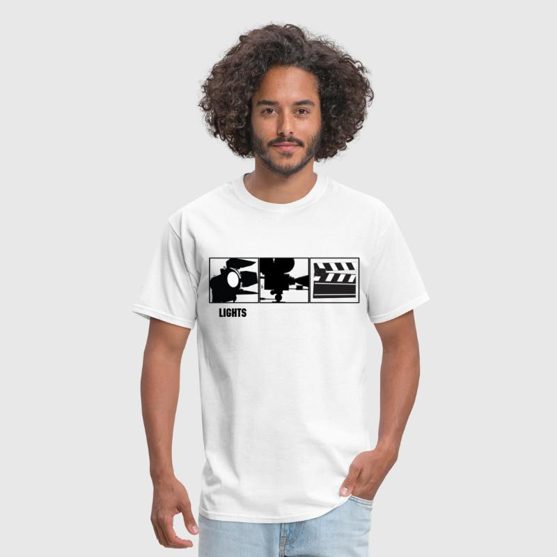 Lights Camera Action  - Men's T-Shirt