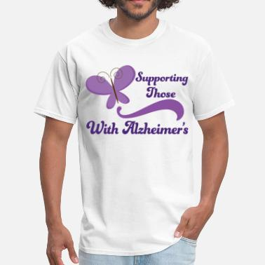 Alzheimers Support Alzheimers Support Pretty - Men's T-Shirt