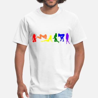 Rainbow Pride Michigan Rainbow pride women - Men's T-Shirt