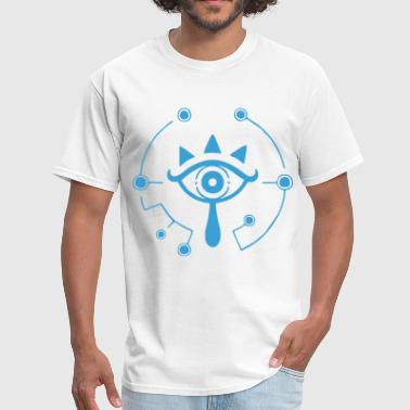 Zelda Sheikah Nintendo Zelda Breath of the Wild Sheikah Eye Logo - Men's T-Shirt