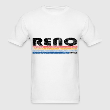 Vintage 1980s Style Reno Nevada husband T Shirts - Men's T-Shirt