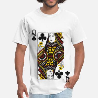 Queen Of Clubs Queen of Clubs - Men's T-Shirt