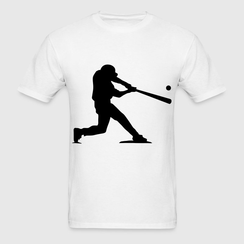 Baseball Hitter - Men's T-Shirt