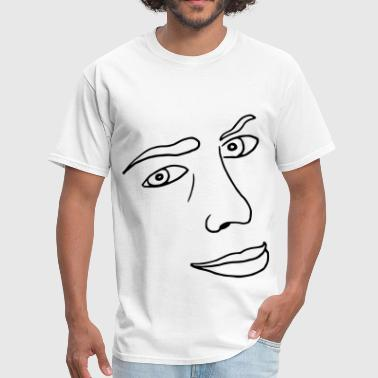 Look Face Face Look - Men's T-Shirt