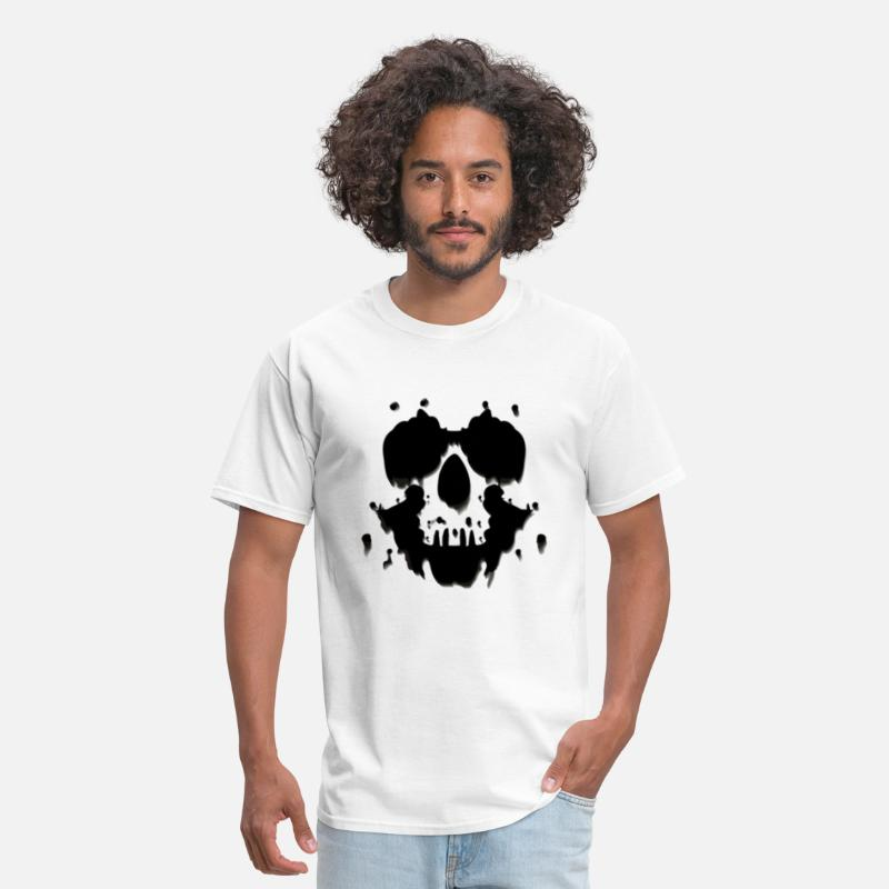 Illusion T-Shirts - The Rorschach Test - Men's T-Shirt white