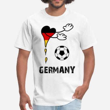 Fan Flag Soccer Germany - Men's T-Shirt