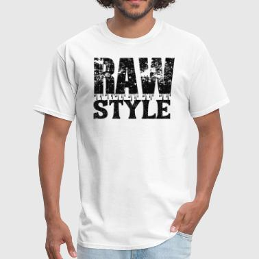 Q Dance RAWSTYLE (black design) - Men's T-Shirt