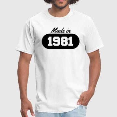 Made in 1981 - Men's T-Shirt