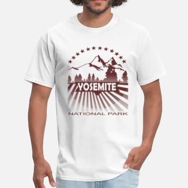 Yosemite National Park yosemite national park - Men's T-Shirt