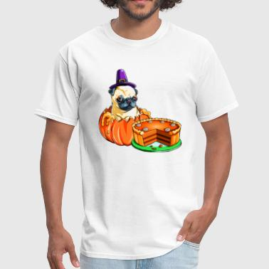 Thanksgiving Pug Thanksgiving - Men's T-Shirt