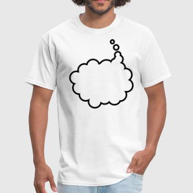 Writable  THOUGHT BUBBLE  - Men's T-Shirt