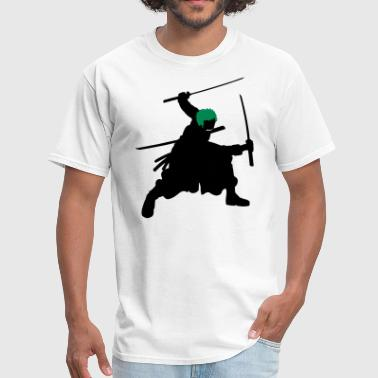 Sword Silhouette Zoro Swords Silhouette - Men's T-Shirt