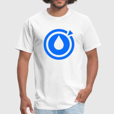 Dubstep Logo Liquid Dubstep Music - Logo - Men's T-Shirt