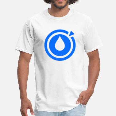 Musically Logo Liquid Dubstep Music - Logo - Men's T-Shirt