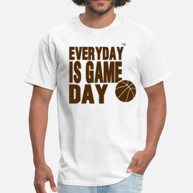 Good Game EVERYDAY IS GAME DAY BASKETBALL™ - Men's T-Shirt