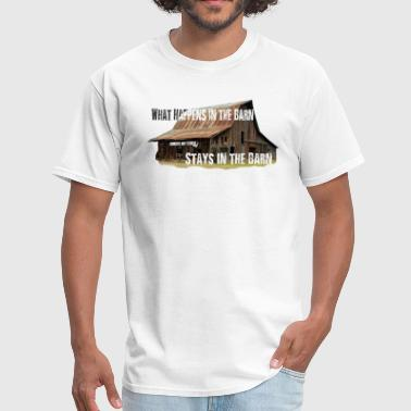 In the Barn - Men's T-Shirt