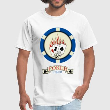 poker club - Men's T-Shirt