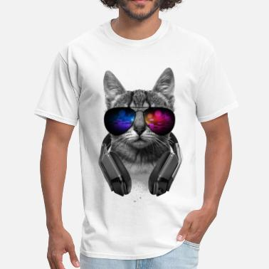 Music Music Lover Cat VII - Men's T-Shirt