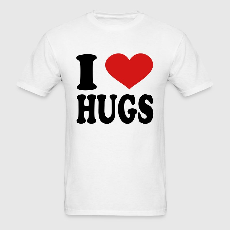 I Love Hugs - Men's T-Shirt