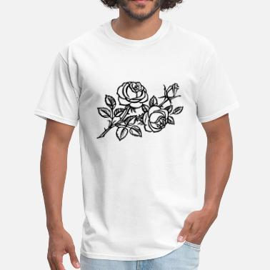 Wind Rose Roses - Men's T-Shirt