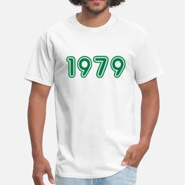 1979 1979, Numbers, Year, Year Of Birth - Men's T-Shirt