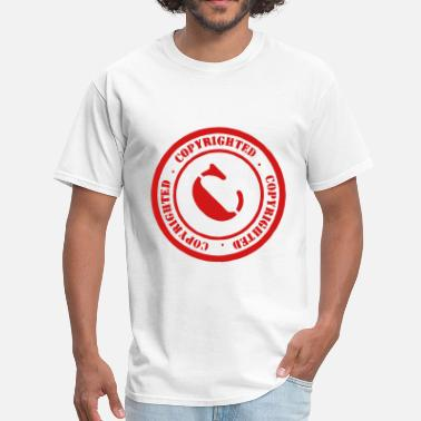 Copyrights Copyrighted - Men's T-Shirt