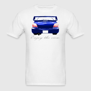Impreza Enjoy the view. Blue - Men's T-Shirt