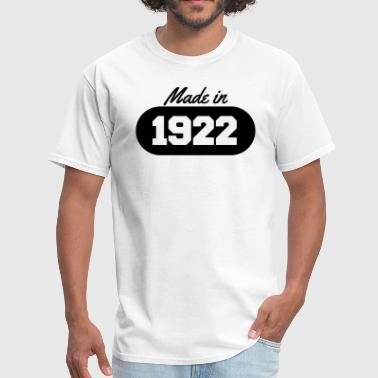 Made in 1922 - Men's T-Shirt