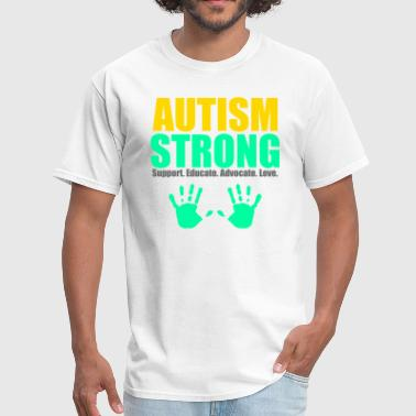Autism Strong - Men's T-Shirt