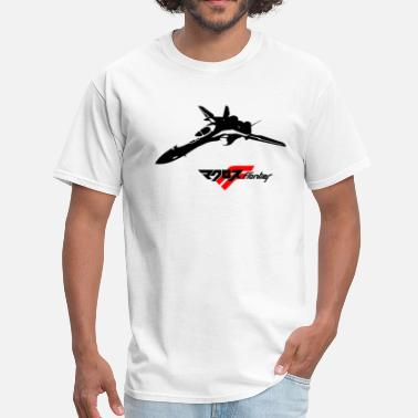 Macross Vf25f logo black - Men's T-Shirt