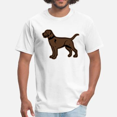 Chocolate Lab Brown Labrador or Chocolate Lab Graphic - Men's T-Shirt