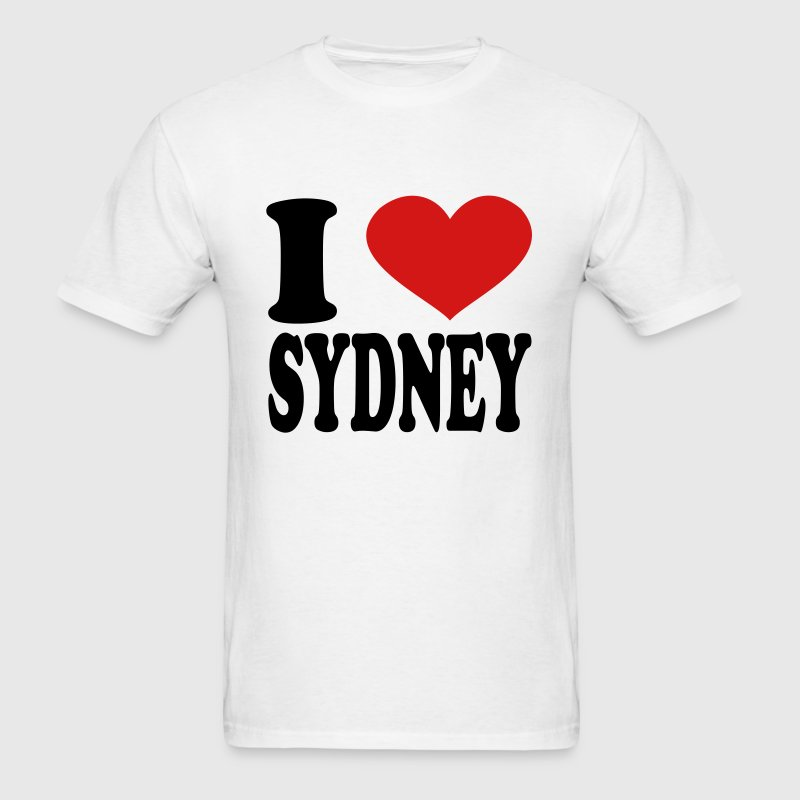 I Love Sydney - Men's T-Shirt