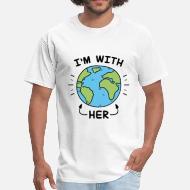 Herring I'm With Her - Men's T-Shirt