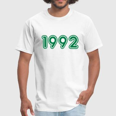 1992, Numbers, Year, Year Of Birth - Men's T-Shirt