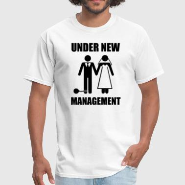 Reception Just Married, Under New Management - Men's T-Shirt