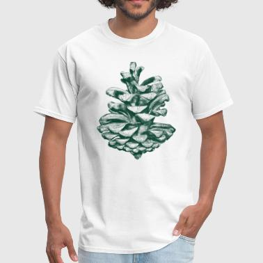 Green pine cone - Men's T-Shirt