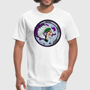 Sbm Chiefin' (Purp) T-Shirt - Men's T-Shirt